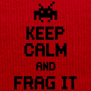 keep calm and frag it Tee shirts - Bonnet d'hiver