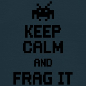 keep calm and frag it Caps & Hats - Men's T-Shirt