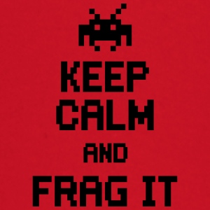 keep calm and frag it Vesker & ryggsekker - Langarmet baby-T-skjorte