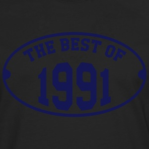 The Best of 1991 T-shirts - Mannen Premium shirt met lange mouwen