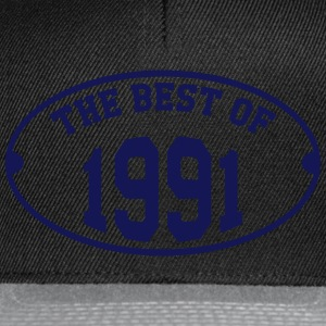 The Best of 1991 T-Shirts - Snapback Cap