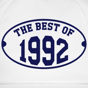 The Best of 1992 T-Shirts - Baseballkappe