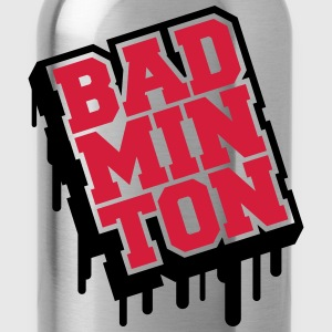 Badminton Graffiti T-shirts - Drinkfles