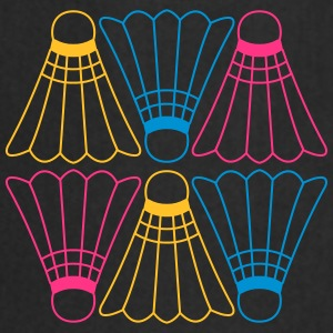 Vector Badminton Pattern T-shirts - Keukenschort
