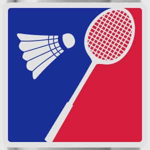 Badminton-Logo-Design T-shirts - Drinkfles