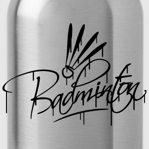 Badminton Graffiti Logo T-shirts - Drinkfles