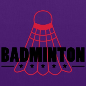 Badminton Icon T-shirts - Tygväska