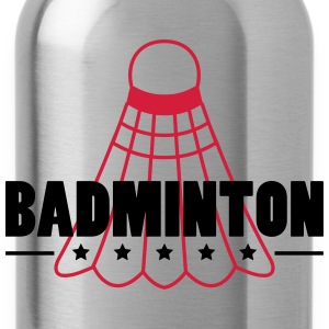 Badminton Icon Camisetas - Cantimplora