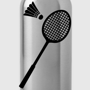 Badminton-Sport-Icon T-shirts - Drinkfles