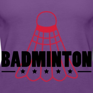 Badminton Icon T-shirts - Vrouwen Premium tank top