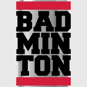 Badminton Design T-shirts - Drinkfles