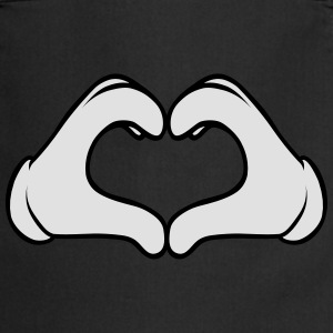 Heart Hand T-Shirts - Cooking Apron
