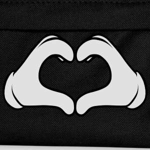 Heart Hand T-Shirts - Kids' Backpack