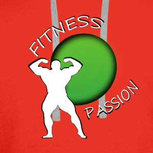 Fitness passion Skjorter - Premium hettegenser for menn