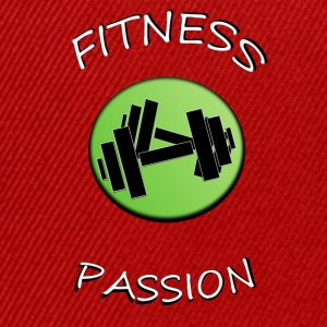 Fitness passion Tee shirts - Casquette snapback