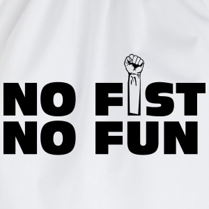 no fist no fun T-Shirts - Drawstring Bag