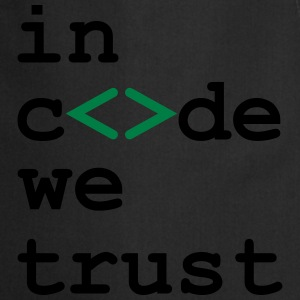 [ In code we trust ] Tee shirts - Tablier de cuisine