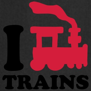 I Love Trains T-Shirts - Cooking Apron