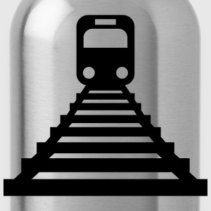 Train-Icon Magliette - Borraccia