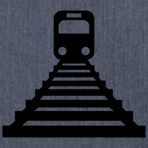 Train-Icon T-shirts - Axelväska av återvinningsmaterial