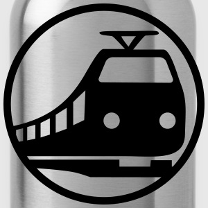 Train Icon Magliette - Borraccia