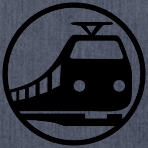 Train Icon T-shirts - Axelväska av återvinningsmaterial