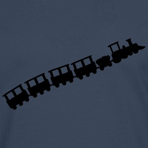 Little Train T-shirts - Mannen Premium shirt met lange mouwen
