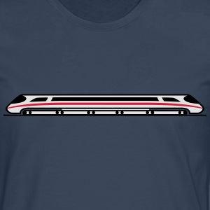 Express Train T-shirts - Herre premium T-shirt med lange ærmer