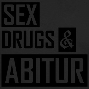 sex drugs and abitur T-Shirts - Männer Premium Langarmshirt