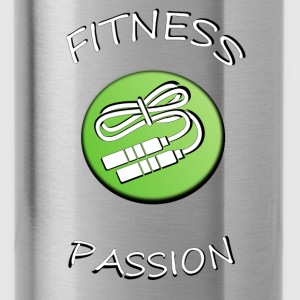 Fitness passion T-Shirts - Trinkflasche