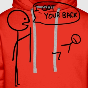 I got your back - Men's Premium Hoodie