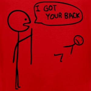 I got your back - Men's Premium Tank Top