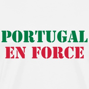 Portugal en force ! Sweats - T-shirt Premium Homme