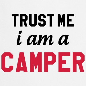 [ Trust me I am a Camper ] Shirts - Cooking Apron