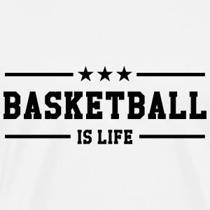 [ Basketball is life ] Sweats - T-shirt Premium Homme