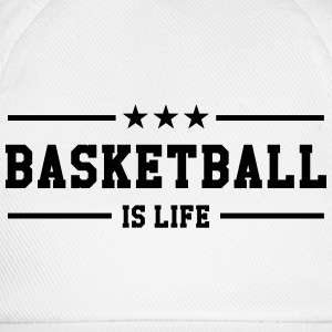 [ Basketball is life ] Shirts - Baseball Cap