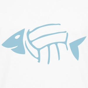 volley waterpolo arete poisson fish ball Tee shirts - T-shirt manches longues Premium Homme