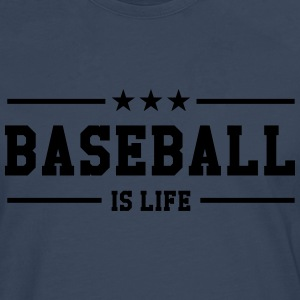 [ Baseball is life ] Shirts - Men's Premium Longsleeve Shirt