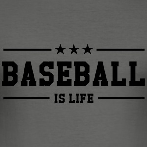[ Baseball is life ] Sweats - Tee shirt près du corps Homme