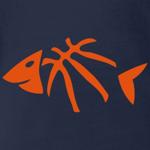 basketball arete poisson fish ballon Tee shirts - Body bébé bio manches courtes