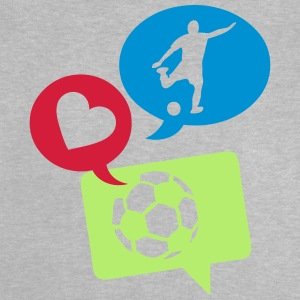 football soccer bulle love bubble 1 Tee shirts - T-shirt Bébé