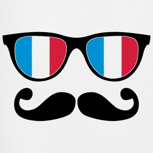 french mustache glasses nerd - like a sir T-Shirts - Men's Football shorts