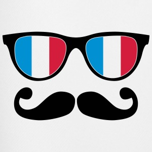 french mustache glasses nerd - like a sir Shirts - Men's Football shorts