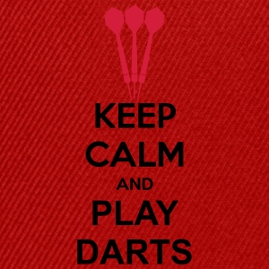 Keep Calm And Play Darts T-Shirts - Snapback Cap