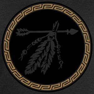 Arrow with feathers, Native American Indian tribes T-Shirts - Men's Sweatshirt by Stanley & Stella