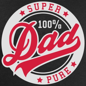 100 percent PURE SUPER DAD 2C T-Shirt GW - Men's Sweatshirt by Stanley & Stella