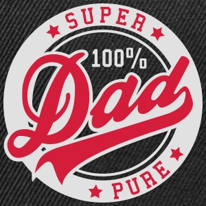 100 percent PURE SUPER DAD 2C T-Shirt GW - Snapbackkeps