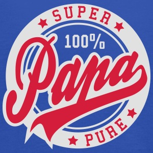 100 percent PURE SUPER PAPA 2C T-Shirt RW - Women's Tank Top by Bella