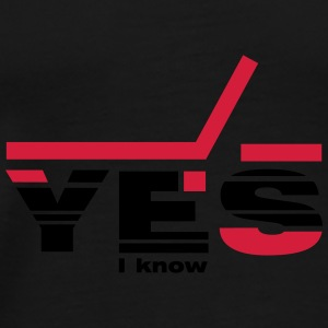 Yes I know Caps & Mützen - Männer Premium T-Shirt