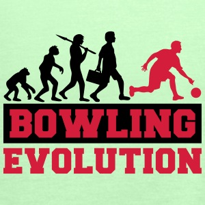 Bowling Evolution T-Shirts - Women's Tank Top by Bella